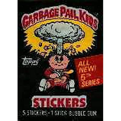 Topps Garbage Pail Kids 5th Series Unopened Pack: Toys & Games