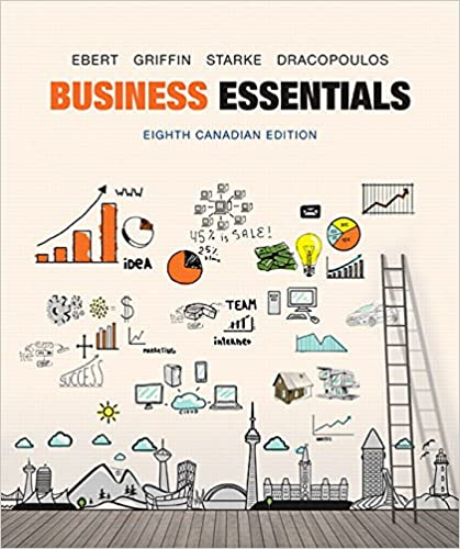Business Essentials, Canadian Edition