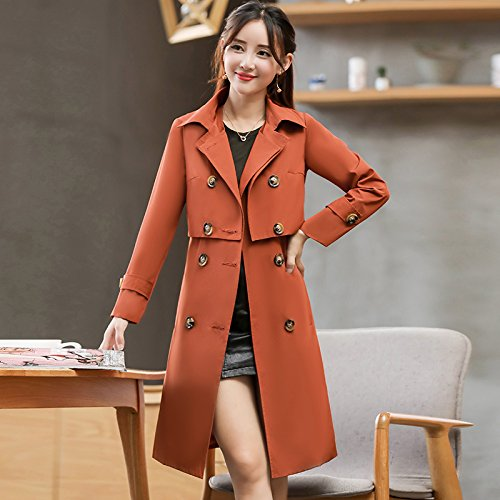The Clothing Jackets Fall Jacket Caramel Female In Women'S Long Coats amp; SCOATWWH q1RtdwR
