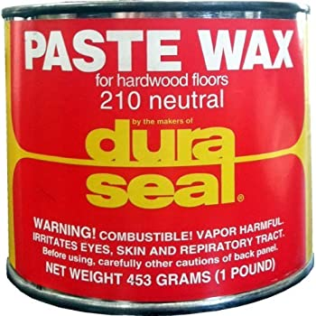 Amazon Com Dura Seal Wood Paste Wax Coffee Brown 1 Lb
