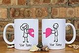 Love Couples Mugs, Mr. and Mrs. Love Mugs, Ceramic Mug, Anniversary Gift, Valentine's Day Gift, Perfect Gift For Girlfriend/Boyfriend, 11oz 15oz