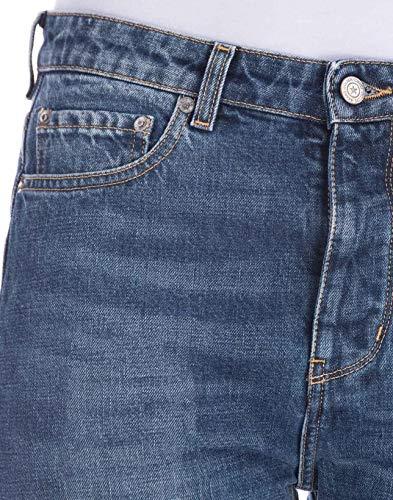 Goose Bleu Coton Jeans Golden G33WP006D6 Femme gqapw