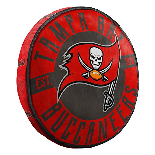The Northwest Company Tampa Bay Buccaneers NFL 15in Cloud Travel Pillow
