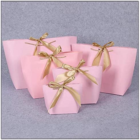 Ganjuan Bolsa de Regalo Caja de Regalo Grande (Color : R Pink ...