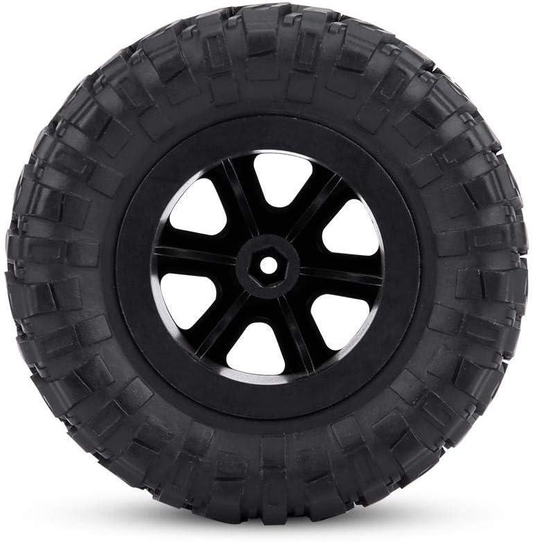 Wytino Crawler Tires,4pcs//Set 1:16 Crawler Tires Rubber Tyres RC Accessory Remote Control Militaty Car Part