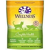 Wellness Complete Health Natural Dry Cat Food, Kitten Deboned Chicken, Chicken Meal & Rice Recipe, 2.9-Pound Bag