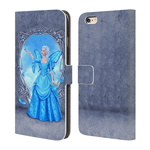 Wallet For Book Critine 4 Rachel Cover Case Fairies iPhone Leather Anderson 4S Apple Birth Blue Topaz Official Stone P8UFxx