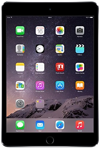 Apple iPad mini 3 MH372LL/A (64GB, Wi-Fi + Cellular, Space Gray) 2014 Model (Refurbished)