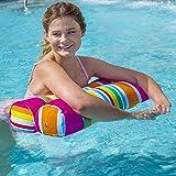 2 Pack Inflatable Pool Float Hammock, Multi Purpose