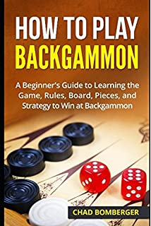 Amazon 18 inch leatherette backgammon set with beautiful old how to play backgammon a beginners guide to learning the game rules board publicscrutiny Images