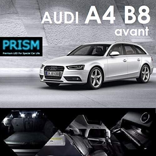 アウディ Audi A4 S4 B8 / S4 8K アバント LED 室内灯 ルームランプ (2012~) 16カ所 キャンセラー内蔵 6000K