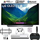 LG OLED65C8PUA 65' C8 OLED 4K AI Smart TV with Xbox One S 1TB and Wall Mount Bundle
