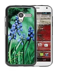 New Beautiful Custom Designed Cover Case For Motorola Moto X With Muscari Flowers Phone Case