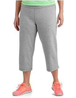 0bd78443e07 Danskin Now Womens Plus-Size Dri-More Relaxed Capri Pants Gym Walking Yoga  Run