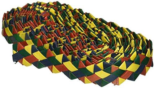 Planet Pleasures Rainbow Zig Zag 30' x 1