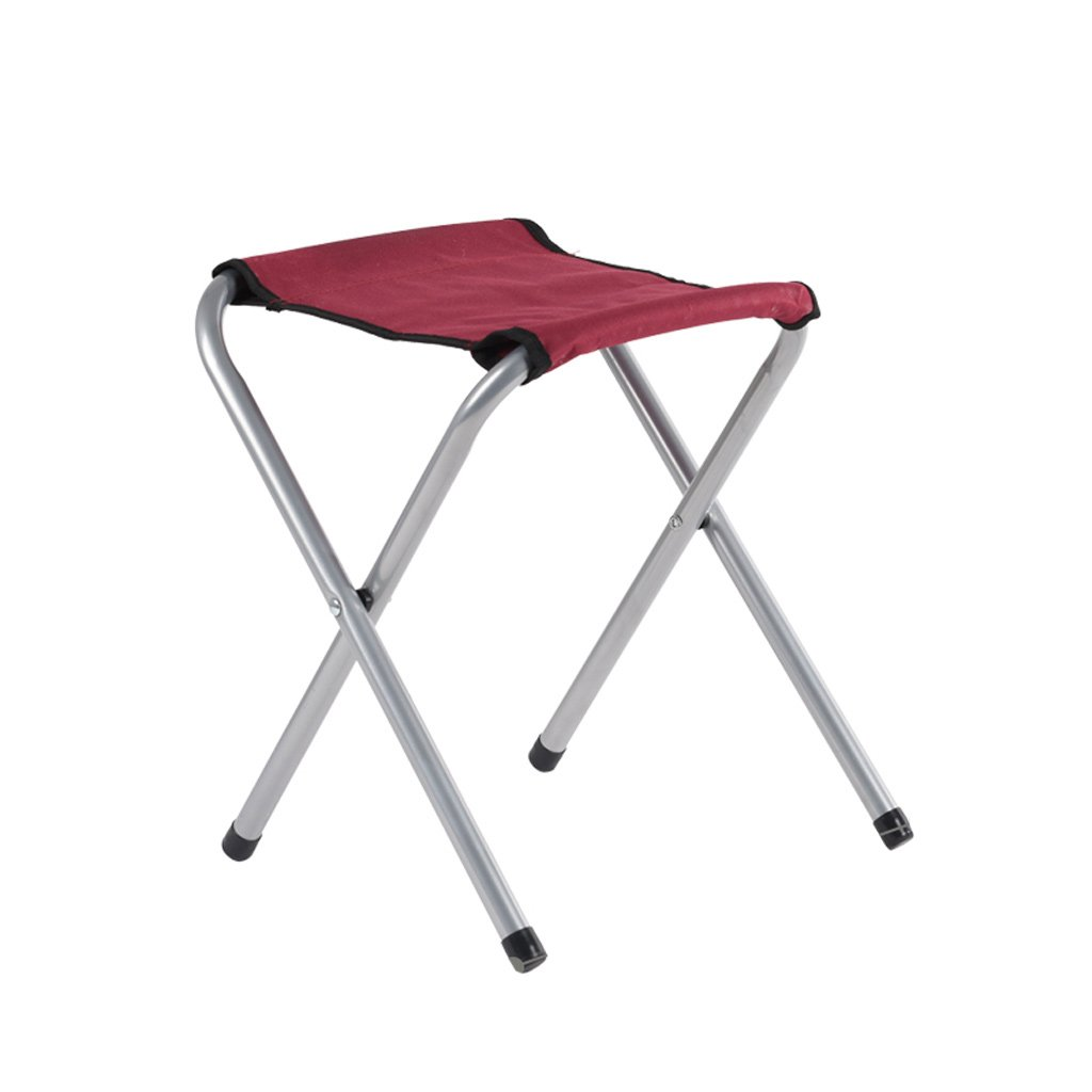 Duzhengzhou Non Slip Folding Step Stool For Kids And Adults With Handle- 36cmHeight (Color : Red)