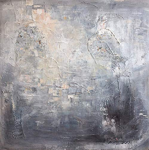Amazon Com Silver Abstract Painting Oil Painting Abstract