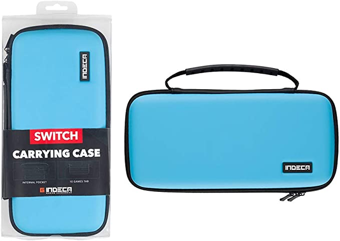 Indeca - Bolsa Gaming, Color Azul Neón 2019 (Nintendo Switch ...