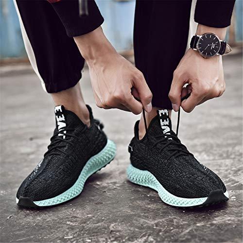 Donna Tqgold Scarpe Sportive Grigio Uomo Fitness Mesh Respirabile Sneakers Corsa Outdoor Running Da Basse Basket Nero Ginnastica Sport wUqFpUI