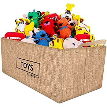 Amazon.com: Large Collapsible Canvas Toy Box: Baby