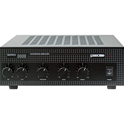 Amazon.com: Paso Series 3000 Integrated Amplifier T3130BGM: Home Audio & Theater