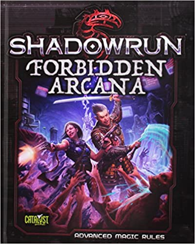 Book Shadowrun Forbidden Arcana