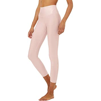 a7aac21f1bd133 Amazon.com: Alo Yoga 7/8 High-Waist Airlift Legging - Women's: Clothing