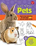 Learn to Draw Pets: Step-by-step instructions for more than 25 cute and cuddly animals