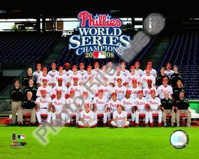 Philadelphia Phillies 2008 World Series Team 8x10 Photo (2008 World Series)