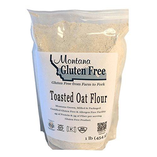 Montana Gluten Free Toasted Oat Flour, 1 Pound