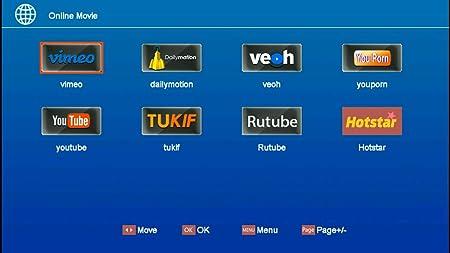 SHUNHAO GTMEDIA V8 Nova Full HD 1080P DVB-S2 FTA Digital Satellite Receiver Built-in WiFi Support PVR EPG for HDTV H.265 Youtube Powervu Network Sharing USB WiFi (V8 Nova): Amazon.es: Electrónica