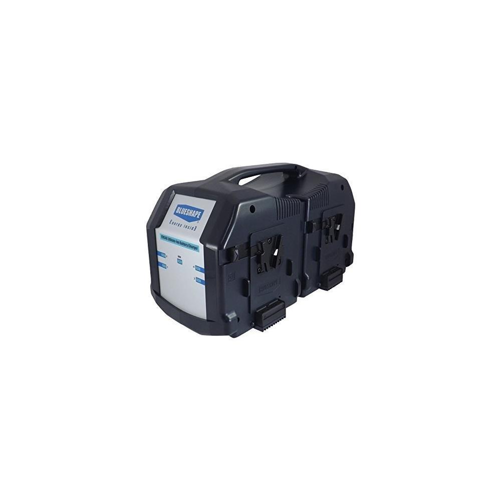 BLUESHAPE POWER SUPPLY 13.8 V + BATTERY CHARGER Vlock FOR 4 BATTERIES