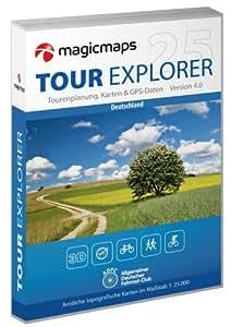 MagicMaps tour Explorador 25 Alemania (importado de Alemania)
