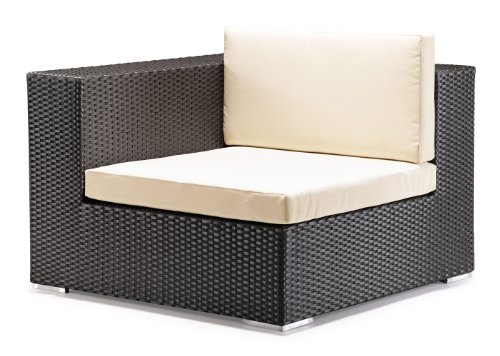 Verona Sectional (Verona Espresso Woven Polypropylene Outdoor Patio Corner Sectional Chair)