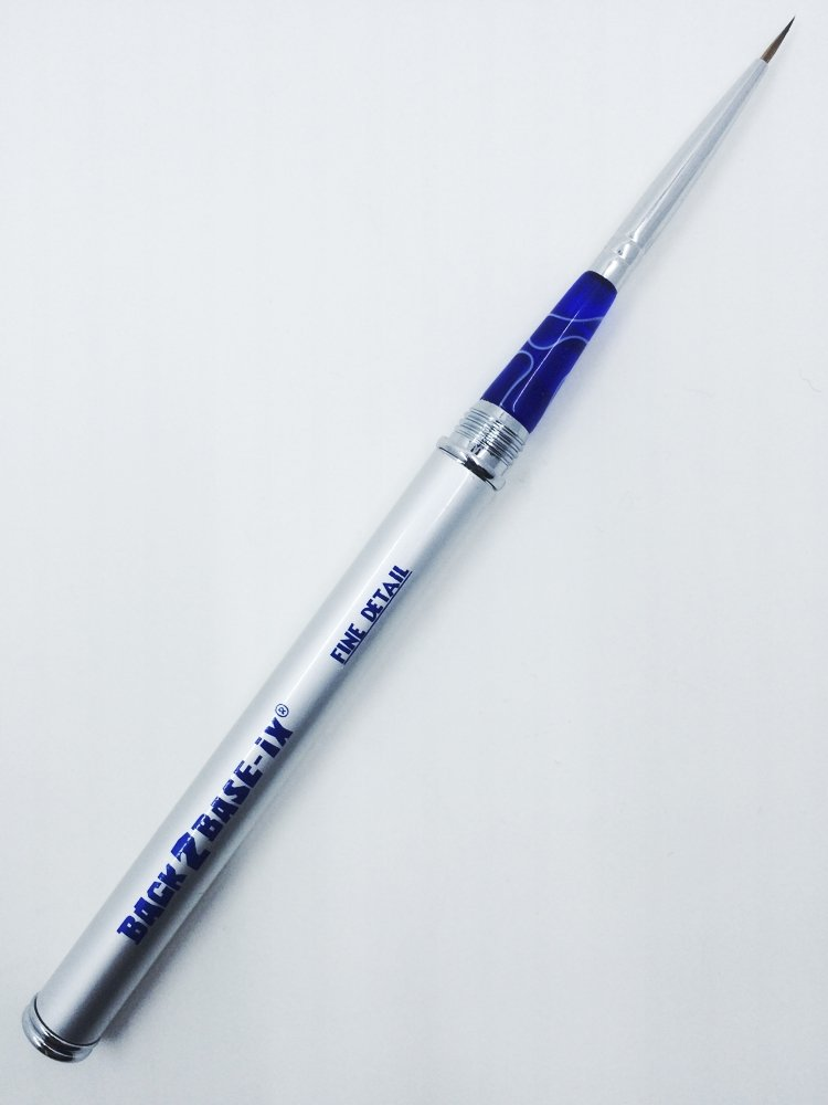 Paint Brush 1 x Fine Detail #00 Pure Kolinsky Sable Hair Aluminium Handle