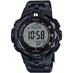 CASIO Men's watches PROTREK Triple Sensor Ver.3 equipped with the world six stations corresponding Solar radio PRW-3100FC-1JF