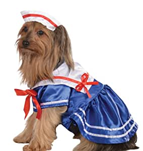 Rubie's Pet Costume, Small, Sailor Girl