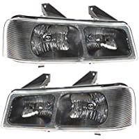 Headlights Headlamps Pair Set of 2 LH & RH for 03-13...
