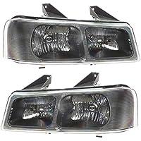 Headlights Headlamps Pair Set of 2 LH & RH for 03-13...