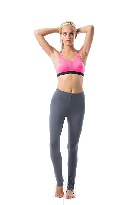 837158396e51e Amazon.com: VIVILISH WOMEN SOLID STIRRUP LEGGING - Designed in Los Angeles:  Clothing