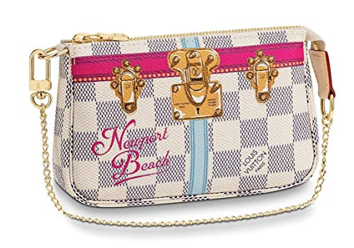 - NEWPORT BEACH WRISTLET MINI POCHETTE ACCESSORIES Louis Vuitton Summer Trunk Bag Pouch Clutch LTD