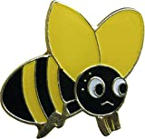 Adorable Grumpy Bumble Bee (Bumblebee) Enamel Pin
