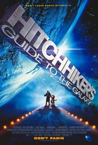Amazon.com: The Hitchhiker's Guide to the Galaxy Movie Poster: Lithographic  Prints: Posters & Prints