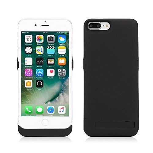 Cover batteria maggiorata iPhone 6 / iPhone 6s (Nero) da 10000 mAh - Power Bank Iphone 6/6s - Backup Battery Charger Case for Iphone 6/6s - Cover con batteria integrata per Iphone 6/6s
