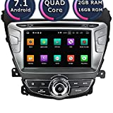 ROADYAKO Android 8.1 Double Din 8Inch Auto Media for HYUNDA Elantra 2014 2015 2016 2017 Car Radio Stereo with GPS Navigation 3G WiFi Mirror Link RDS FM AM Bluetooth AUX