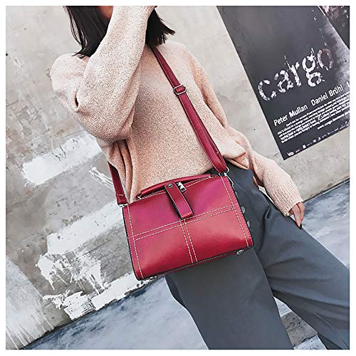 Sac Casual Sanfashion Sacs Nylon Rouge Cloth Femme En Ladies À Dos Main Oxford 6qF4qpw5