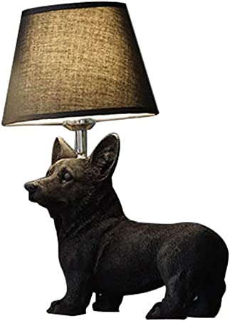 Dog Table Lamps (various Breeds) in
