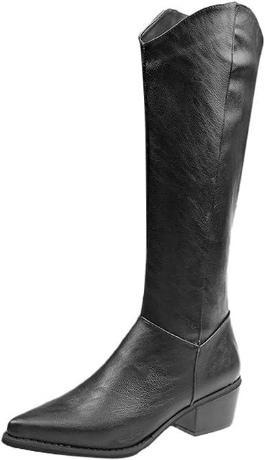 Jujia Shoes Stivali Donna Invernali Stivali Alti Sopra Il
