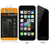 """[2-Pack] For iPhone 7 Plus 5.5"""" - SuperGuardZ Privacy Anti-Spy Tempered Glass Screen Protector, 9H, 0.3mm, 2.5D Round Edge, Anti-Scratch, Anti-Bubble"""
