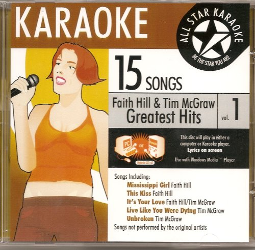 Faith Hill Karaoke - ASK-1545 Counrty Karaoke: Faith Hill And Tim McGraw, Vol. 1